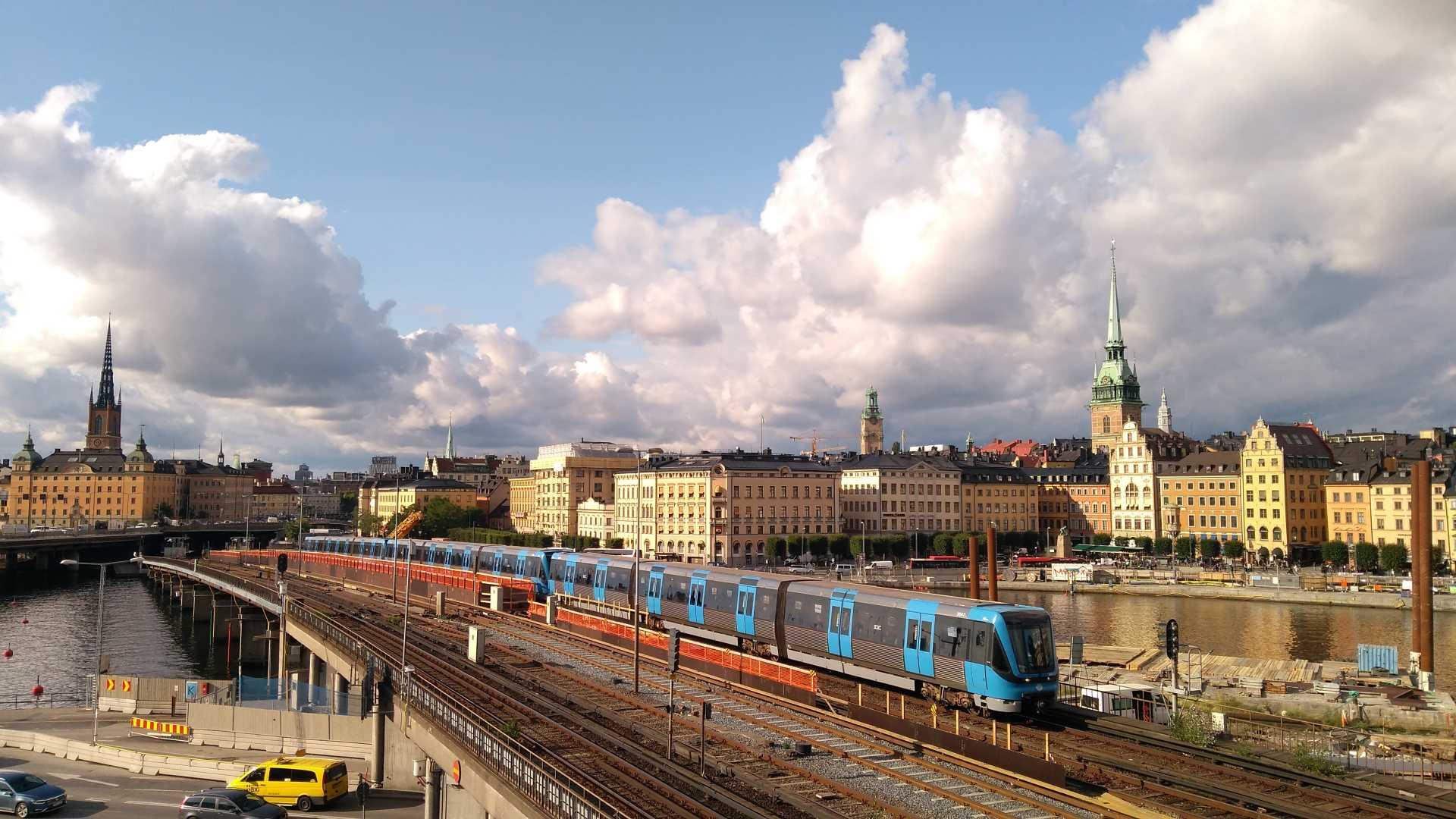 reizen naar zweden per trein