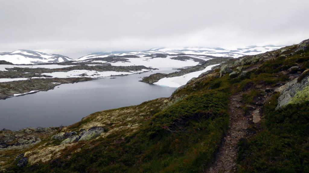 hardangervidda arctisch landschap