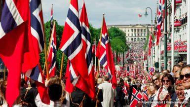 nationale feestdag in noorwegen